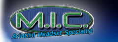 M.I.C. Aviation Headset Specialist