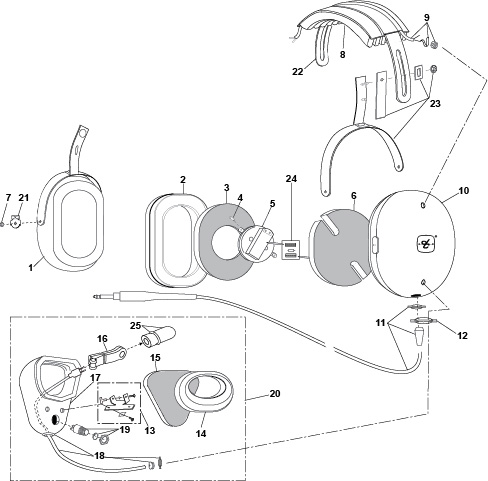 Headphone Input Wiring Diagram
