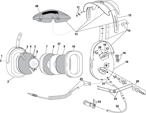 david clark h10 76 wiring diagram  vehicle  vehicle wiring
