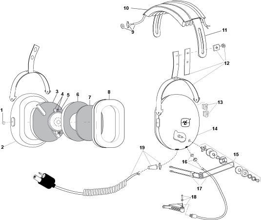 David Clark Headset Wiring Diagram
