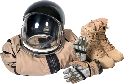 Commercial Spaceflight Suit