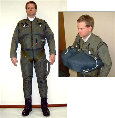 Tactical Flyer's Ensemble (US Patent No. 7,076,808)
