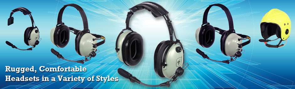 Rugged Comfortable Headsets in a Variety of Styles