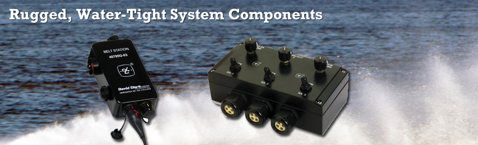 Rugged, Water-Tight System Components