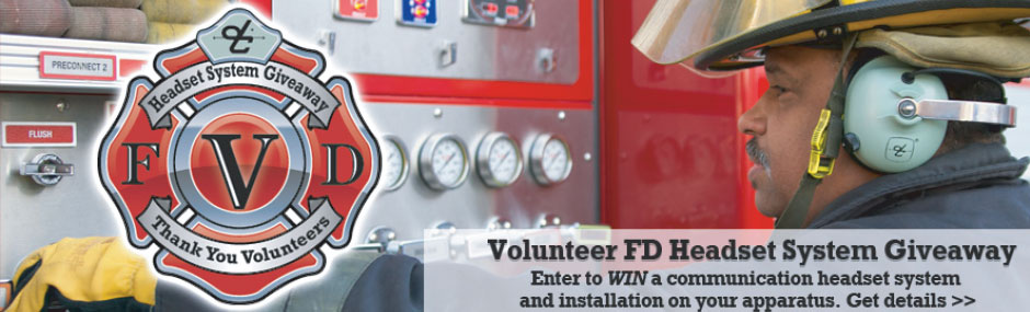 Volunteer FD Headset System Giveaway