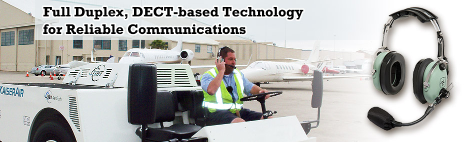 Full Duplex, DECT-based Technology for Reliable Communications